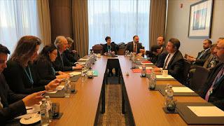 اختتام اليوم الأول من اجتماع الدول الضامنة لمسار أستانة حول سوريا