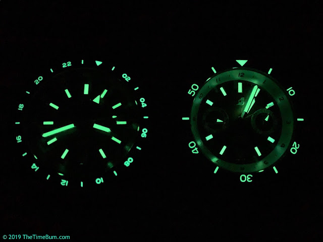 Straton Tourer GMT and Triple Calendar lume