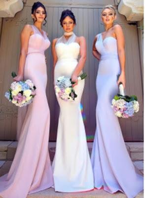 Chic Convertible Mermaid Bridesmaid Dresses