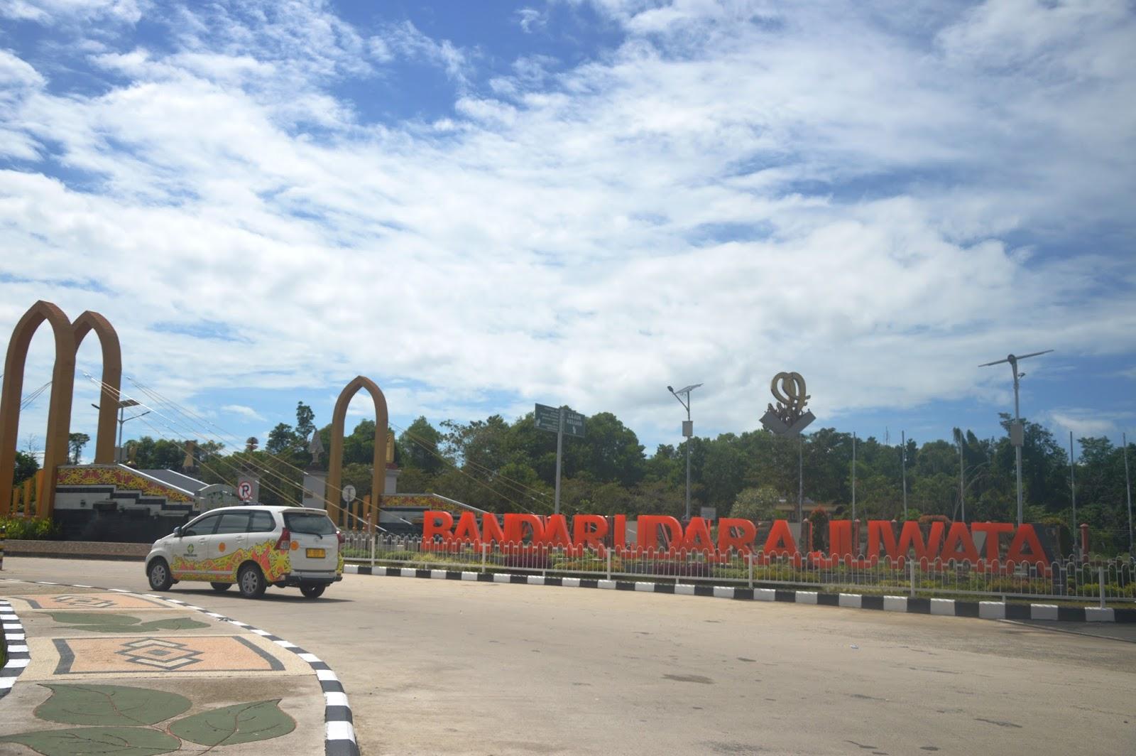 bandara udara internasional juwata kota tarakan provinsi kalimantan utara yang pengelolaannya berada di bawah kementrian perhubungan republik indonesia