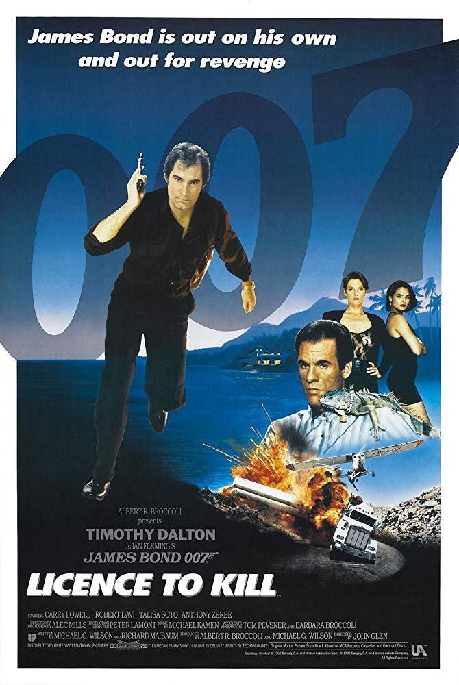 007 Ja Lupa Tappaa