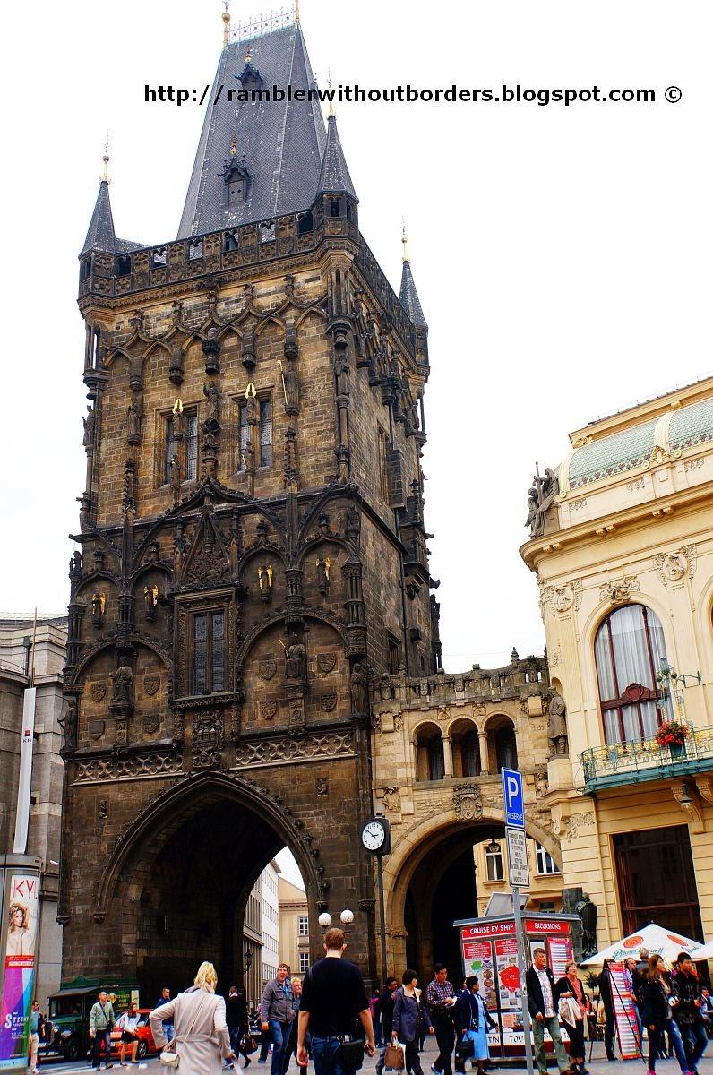 Powder Tower, Prague, Czech Republic