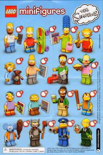 Lego series Simpsons 1