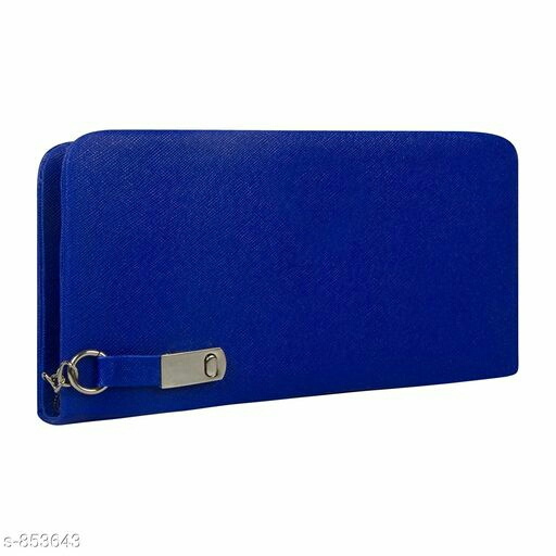 Trendy Synthetic Leather Wallet