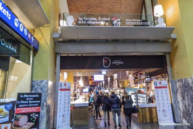 Mercato Centrale de Termini, Roma, Itália