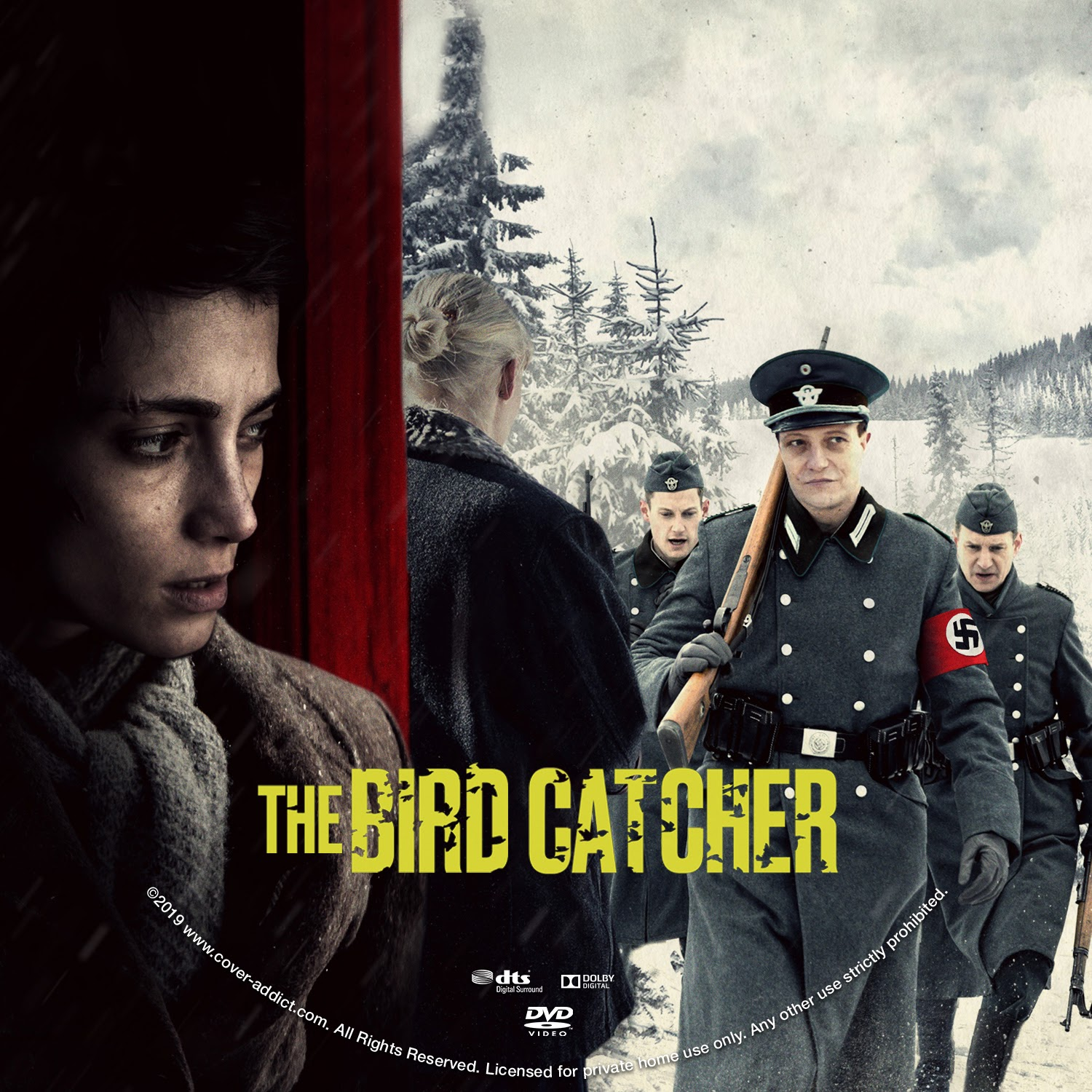 The Birdcatcher DVD Label | Cover Addict - Free DVD, Bluray Covers and Movie Posters