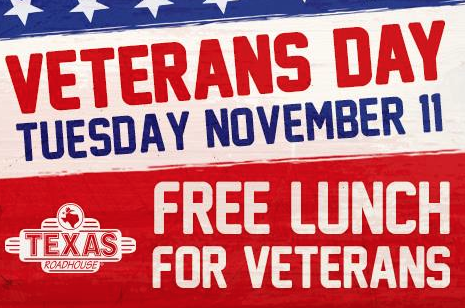 Tucson Arizona Free Food For Veterans Day