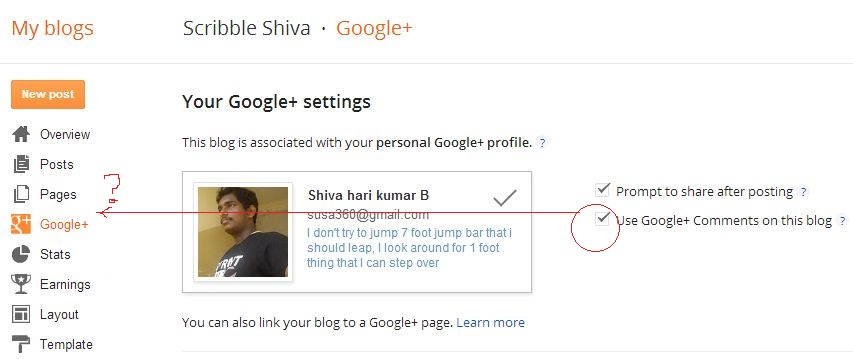 Chennai : Delete and Manage Blogger Comments with Google +