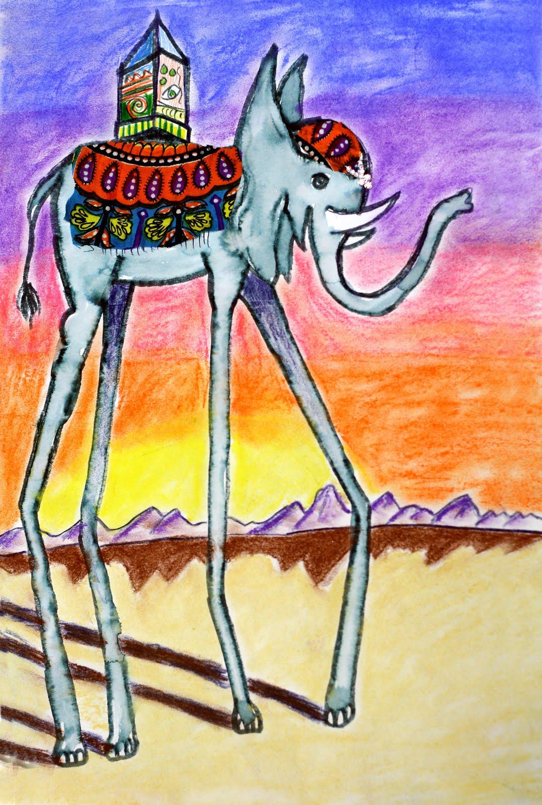 smART Class: Salvador Dali Elephants and Surrealistic ...