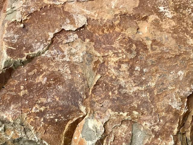 Андезит текстура