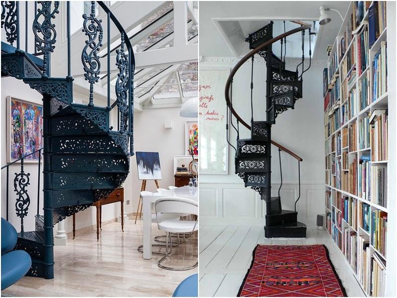 Elige La Mejor Escalera De Caracol Para Interiores Amor