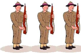 short essay on soldier