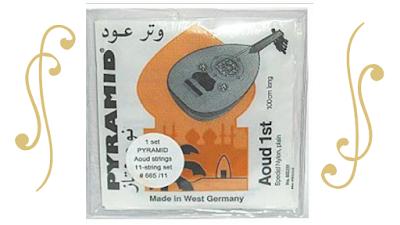 أوتــار بيراميد Aoud PYRAMID SUPER الممتـازة تصنع من المواد المختارة بواسطة احدث التكنولوجيا الاوتار لعازفين العود البارعين