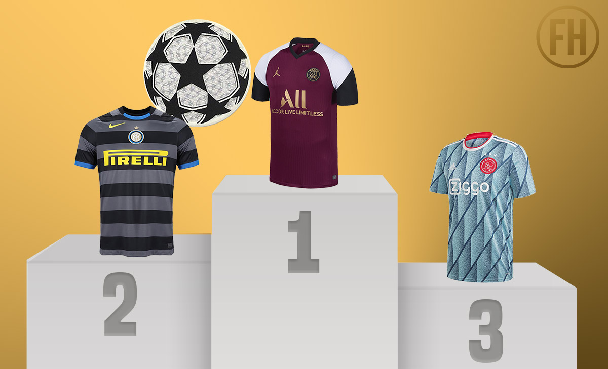 The Top 10 Kits of 20-21 Champions League - Footy Headlines