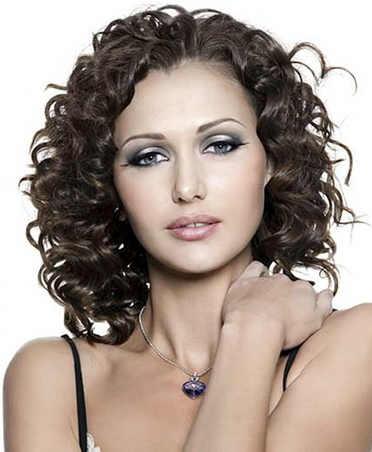 New curly hairstyles for women