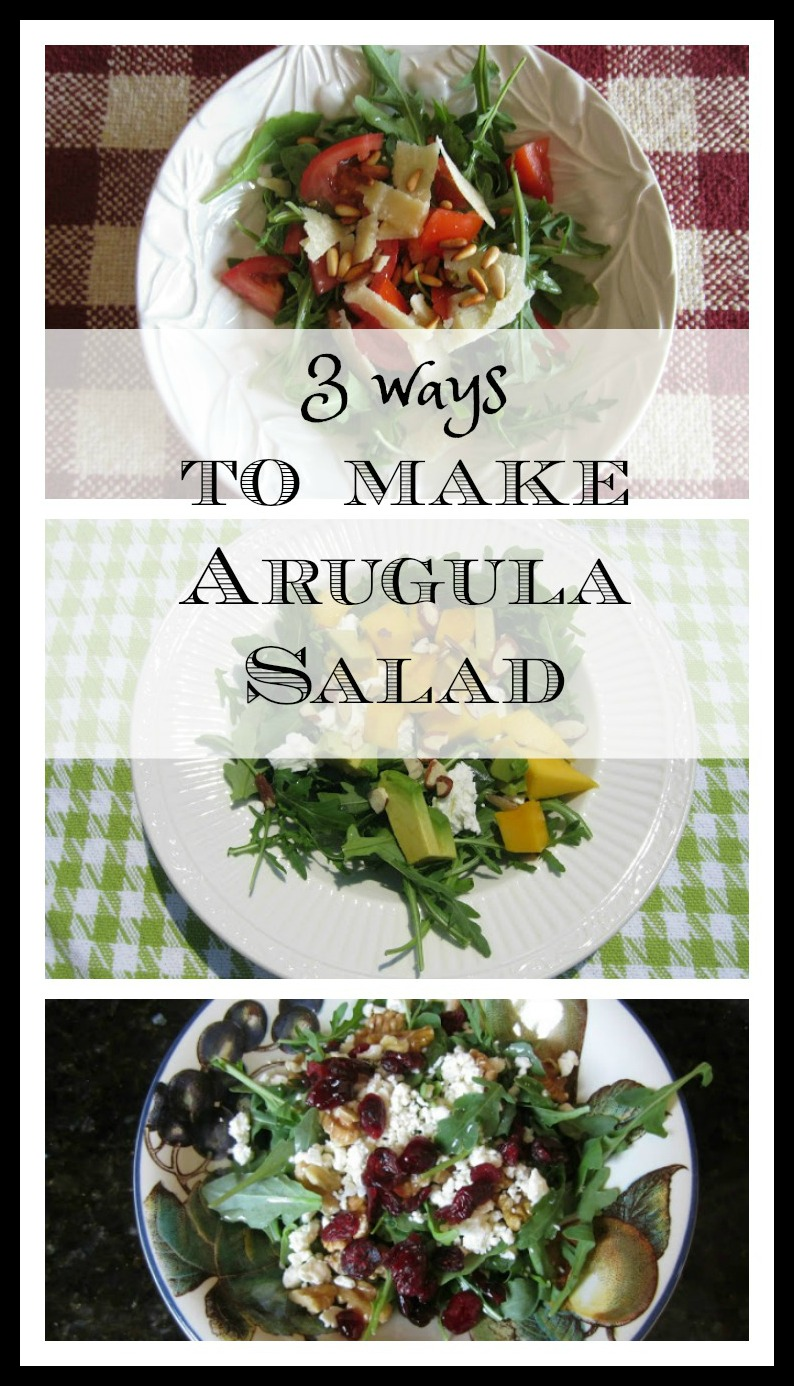 3 Simple Ways to Make an Arugula Salad - Perfect for Summer
