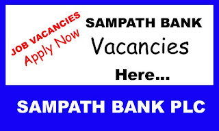 Sampath Bank Vacancies
