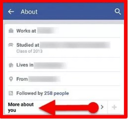 how to hide birthday on facebook app