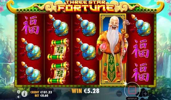 Main Gratis Slot Indonesia - Three Star Fortune (Pragmatic Play)