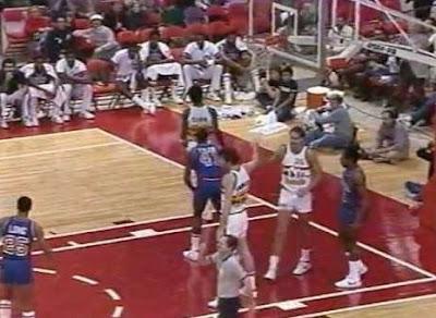 NBA tarihinin en yüksek skorlu maci | Detroit Pistons - Denver Nuggets