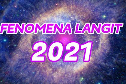 Fenomena Alam 2021 yang Sayang Untuk Dilewatkan