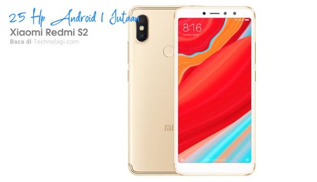 Xiaomi Redmi S2 harga 1,3 jutaan