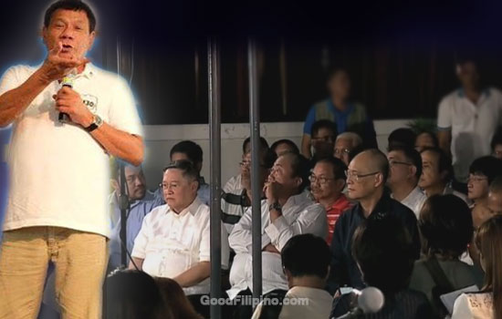 Duterte was sure on his Cabinet members are men of 'integrity and honesty'