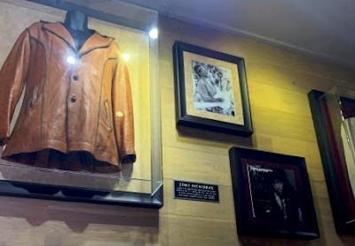Hard Rock Cafe - Jimi Hendrix booth