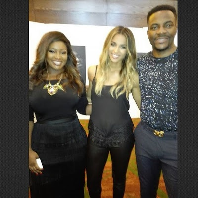 Toolz Interviews Ciara; Check Out the Cute Selfie They Took