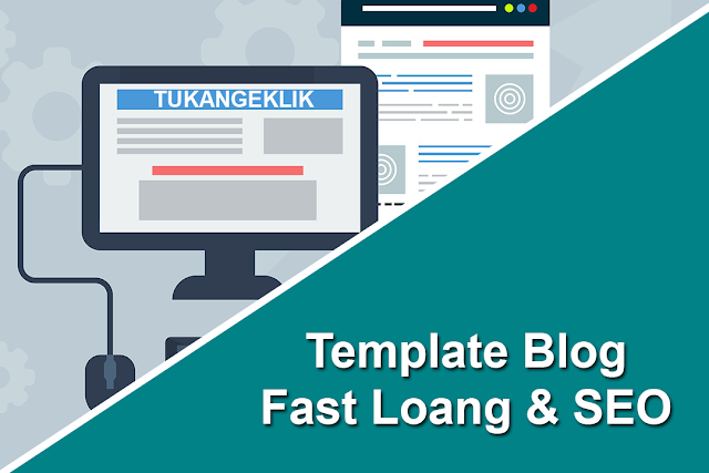 template blog fast loading
