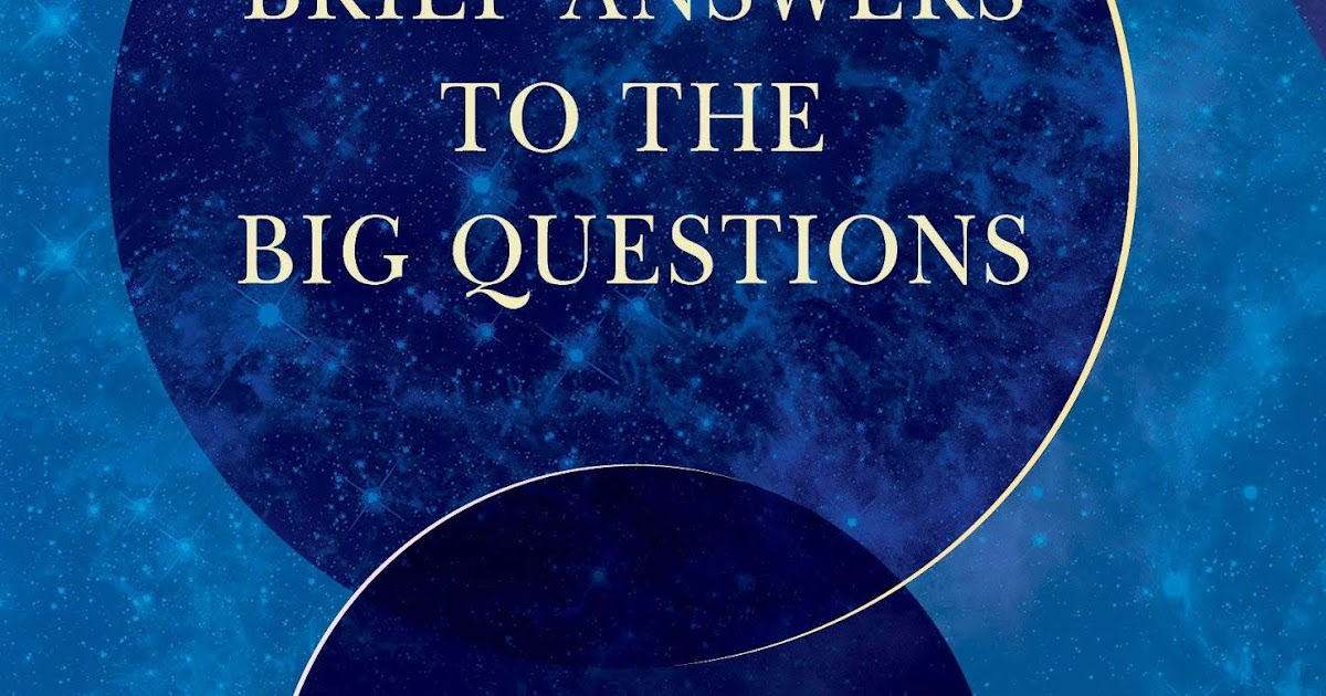 Brief Answers to the Big Questions 9781473695986 H ...