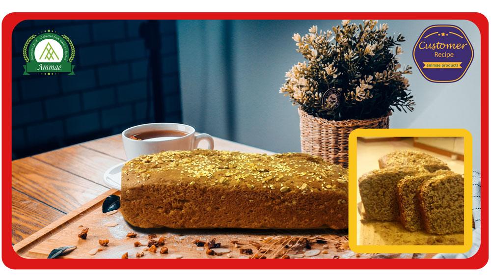 Home made Bread - Recipe using Ammae Multigrain Atta