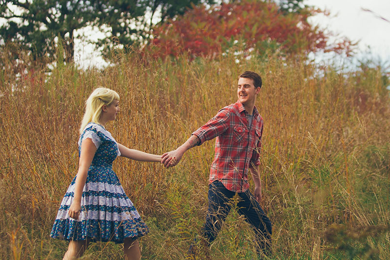 Engagement Photos Emulate Friday The 13th
