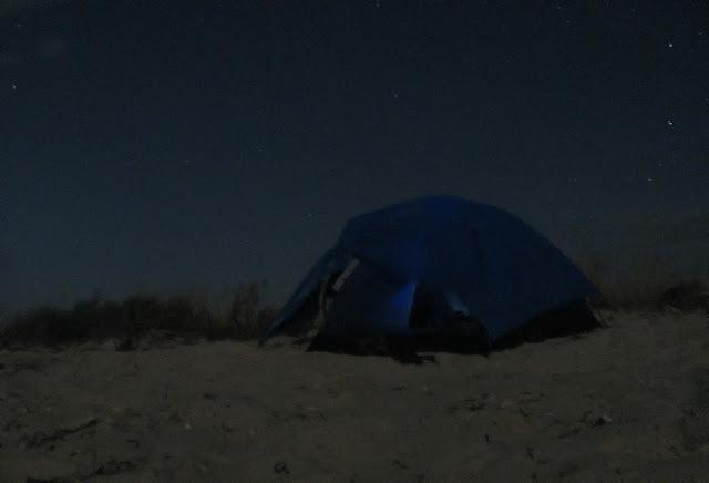 Палатка на Джарылгач