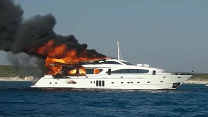 Se incendia yate de Raúl Castro anclado en el litoral de Cayo Saetía