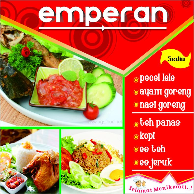 DOWNLOAD DESIGN SPANDUK WARUNG MAKAN EMPERAN CDR - Design ...
