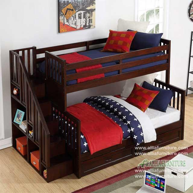 tempat tidur susun anak model denver