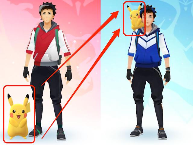 Cara Membuat Pikachu Berada di Bahu Trainer - Pokemon Buddy