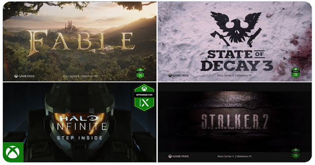 Resumen Xbox Game Showcase:  gameplays, trailers y mas de Halo Infinite, Fable, Forza