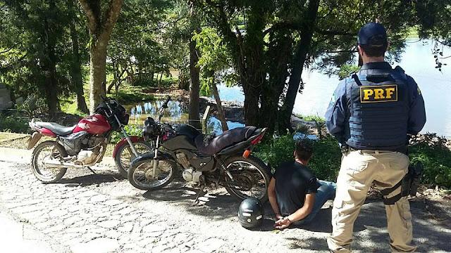 PRF apreende três motocicletas com suspeita de adulteração na Régis Bittencourt