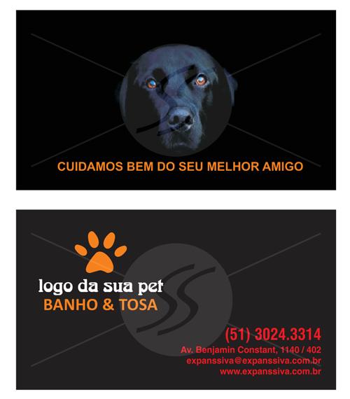 cartao de visita pet shop 13 - Cartões de Visita Pet Shop