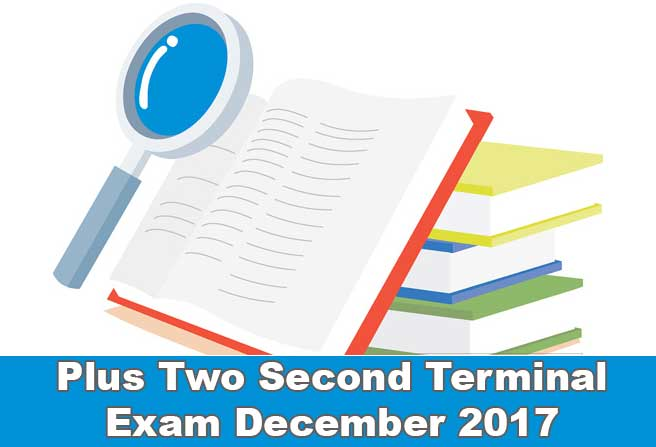 plus two terminal exam december 2017