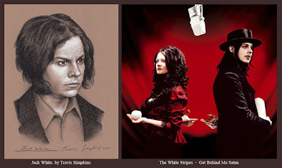 Jack White. Singer-Songwriter and Producer. The White Stripes. Get Behind Me Satan. by Travis Simpkins