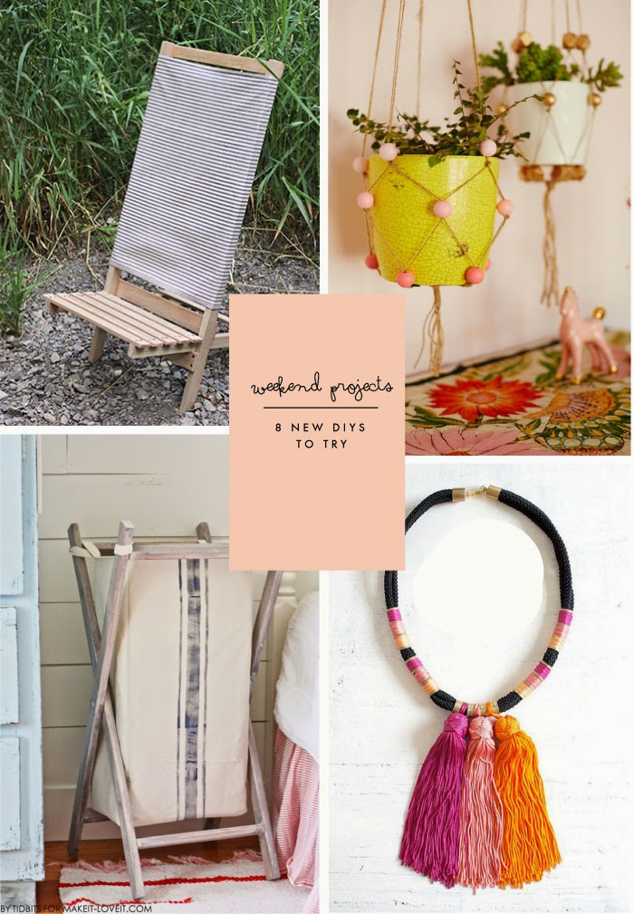 Weekend Projects  8 New Diy Projects To Try  Poppytalk