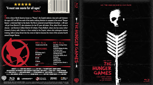 Hunger Games Bluray Cover