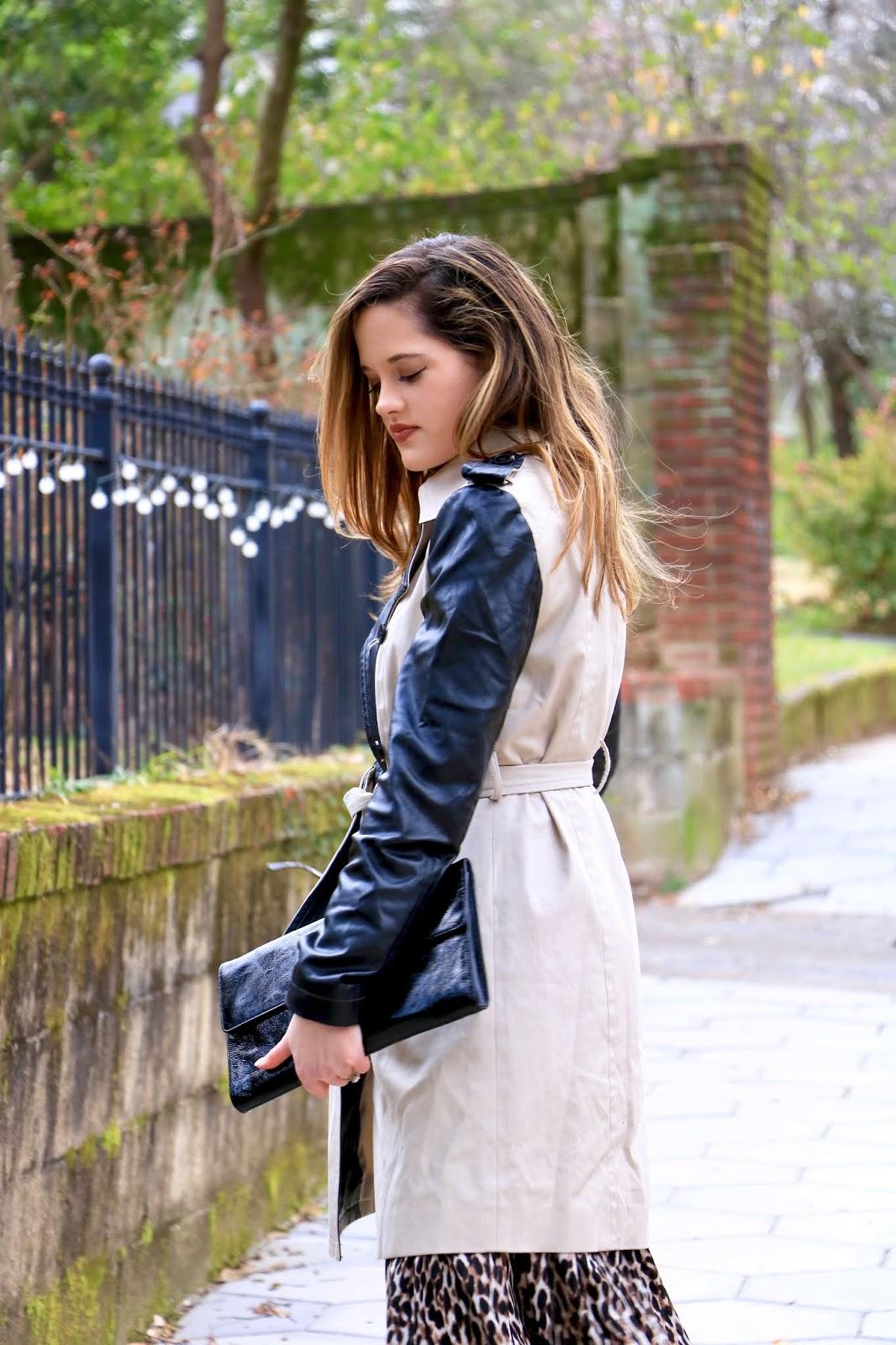 Nyc fashion blogger Kathleen Harper wearing 2020's biggest spring trends.