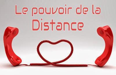 Relation et amour à distance par téléphone.