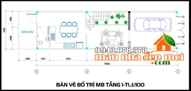 Hình ảnh tổng quan bản vẽ mẫu nhà 3 tầng đẹp tân cổ điển xa hoa tại TPHCM