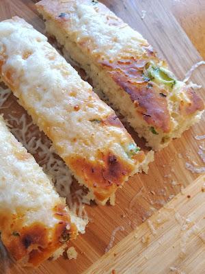 Zucchini Bisquick Bread Sticks