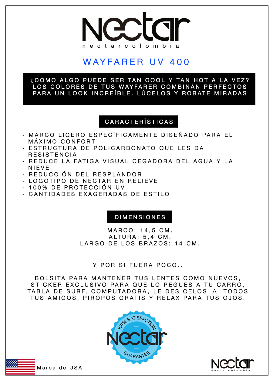 Wayfarer UV 1